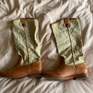 Frye Melissa Button Boots, size 37